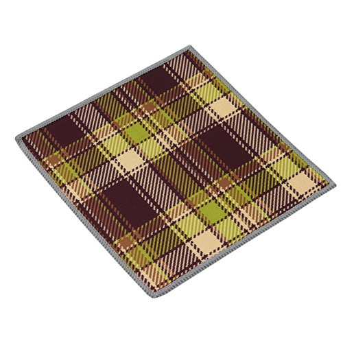 Carson Double Sided Microfiber Cleaning Cloth, Vintage Plaid