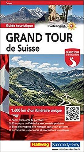 Book Grand Tour de Suisse Guide touristique FR hkf