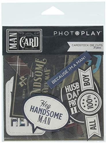 Man Card MC8899 Cardstock Multicolor ()