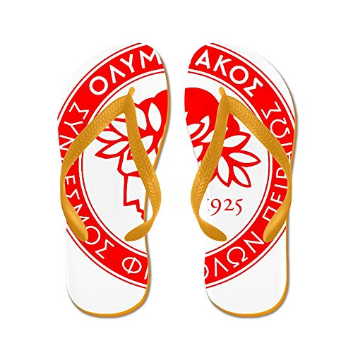 fan products of CafePress - Olympiacos - Flip Flops, Funny Thong Sandals, Beach Sandals