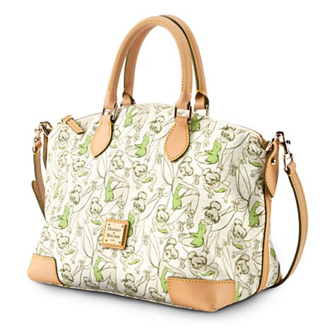 2014 Disney Dooney & Bourke Half Tinker Bell Half Marathon SatchelShoulder Bag Purse