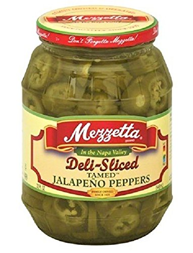 (Jalapeno Peppers Deli Sliced Tamed 32 fl Oz Kosher Spicy By Mezzetta)