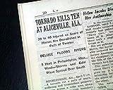 ALICEVILLE ALABAMA Pickens County F3 TORNADO