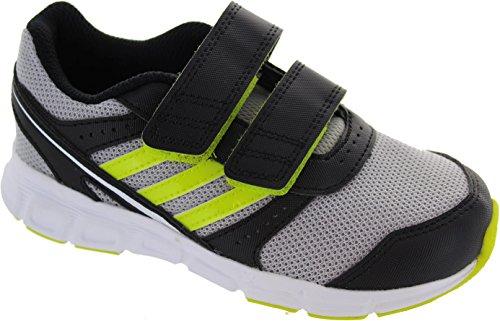 adidas  Fb Ace Cf K, Baskets mode pour garçon argent Silver
