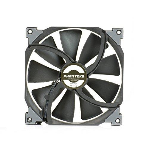 (Phanteks PH-F140SP_BBK_1200RPM, Case/Radiator Fan, Frame/Blades, Black)