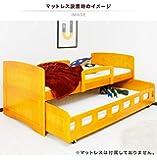 親子ベッド 2段ベッド 二段ベッド シングル フレームのみ 木製 パイン (ライトブラウン)