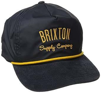 Brixton Men's Driven Snap Back, Navy, One Size