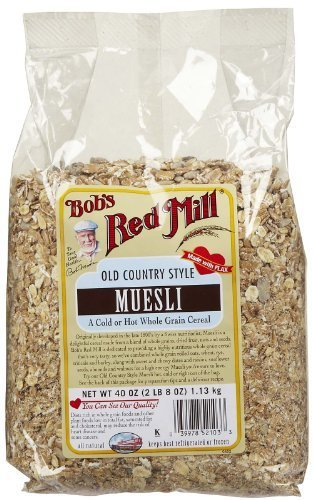 Bob's Red Mill Old Country Style Muesli Cereal, 40 Oz