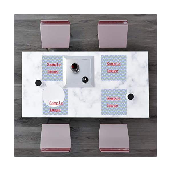 Randell Placemats Set of 4 Ariege Pointer Dog Digital Art White Braque De Pointing Stain Resistant Table Mats 1212 in 2
