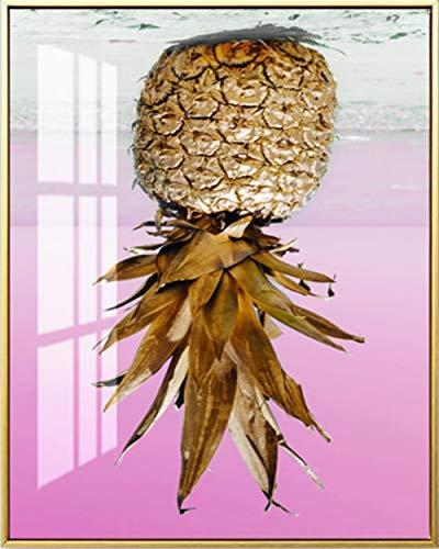 5D Diamond Painting Kits DIY Creative Handmade Pineapple Golden 2 Art Crafts Round Bead Drill Rhinestone Crystal…