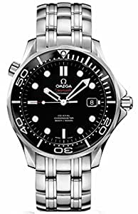 Omega Seamaster 41 mm Black Dial Mens Watch 212.30.41.20.01.003