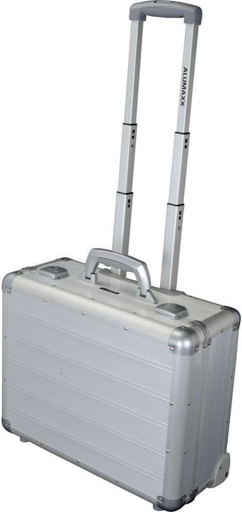 ALUMAXX Attachékoffer MERCATO Aktenkoffer Laptop Business Aluminium silber 45188