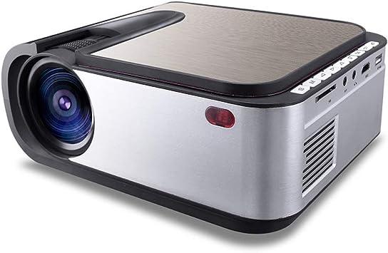 ZUKN Mini Proyector Portátil 2200 Lúmenes Full HD 1280X720 ...