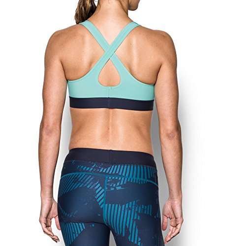 Under Armour Women's Armour Crossback Mid, Bayou Blue/Blue Infinity, Large