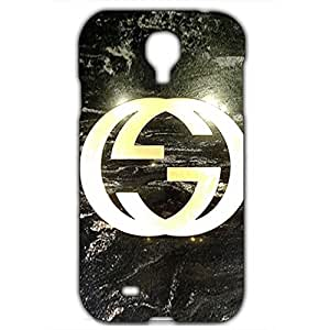 Luxury Gucci Logo Back Cover For Samsung Galaxy S4 3D Hard Plastic Case
