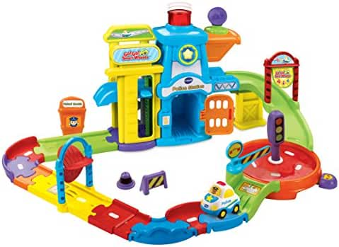 VTech Go! Go! Smart Wheels Police Station Playset (Discontinued by manufacturer)