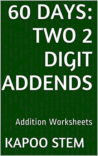 Amazon.com: 60 Addition Worksheets with Two 2-Digit Addends: Math ...