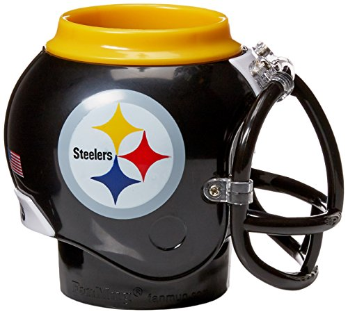 (FanMug Pittsburgh Steelers Mug, Various, Multi-Color)
