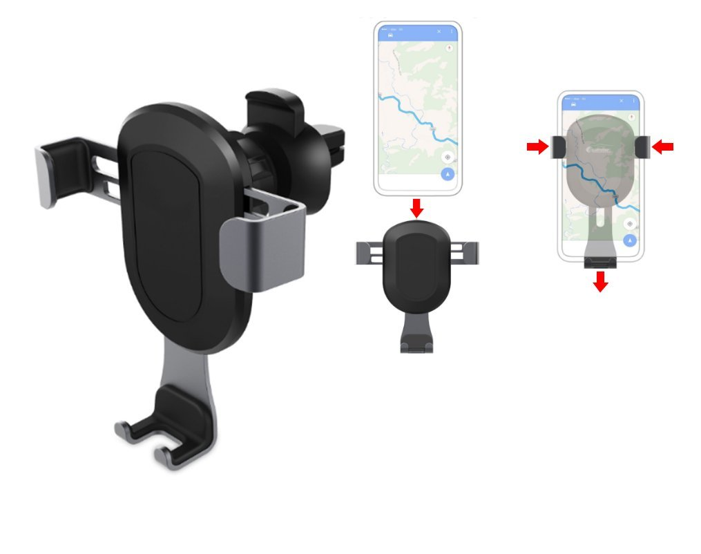 Samsung Galaxy S8//S7//S6 Nexus HUAWEI and other Smartphones Asolaba Automatic Car Mount Cell Phone Holder For Car CarFriend Universal Gravity Car Air Vent Mount Holder for iPhone X//8//8 Plus//7//7 Plus//6//6S