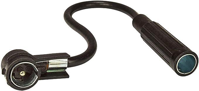 tomzz Audio 1500-007 Adaptador de Antena DIN 150 Ohm Enchufe de Acoplamiento a ISO 50 Ohm Enchufe, Viejo a Nuevo, 16cm
