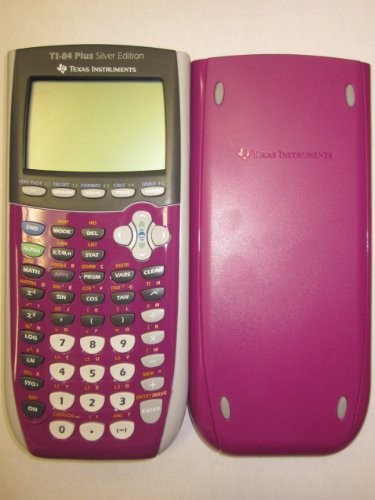 pink ti 84 plus silver edition - 8