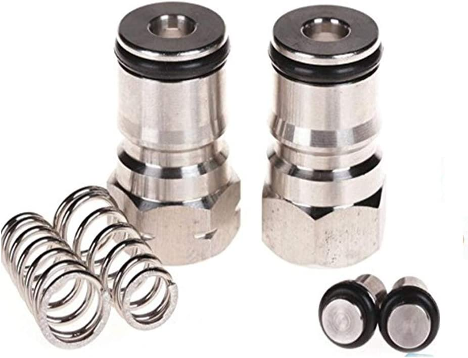 "Preamer 19/32""-18 Gas Liquid Ball Lock Keg Post Kit PostBoth For Corny/Cornelius Type kegs"