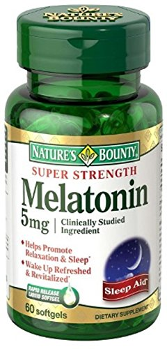 MELATONIN TABS 5 MG MAX ST NBY 60