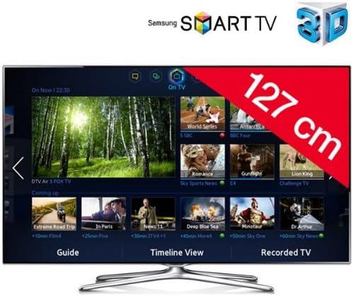 Samsung UE50 F6500 – Televisor LED 3d Smart TV + Cable HDMI F3Y021BF2 M – 2 m: Amazon.es: Electrónica
