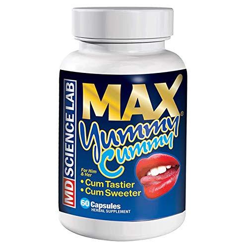 Max Yummy Cummy, Cum Tastier, Cum Sweeter 60 Pills