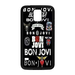 Fggcc Bon Jovi Pattern Case for SamSung Galaxy S5 I9600,Bon Jovi S5 Phone Case