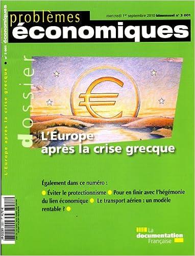 L'Europe après la crise grecque (N.3001) epub, pdf