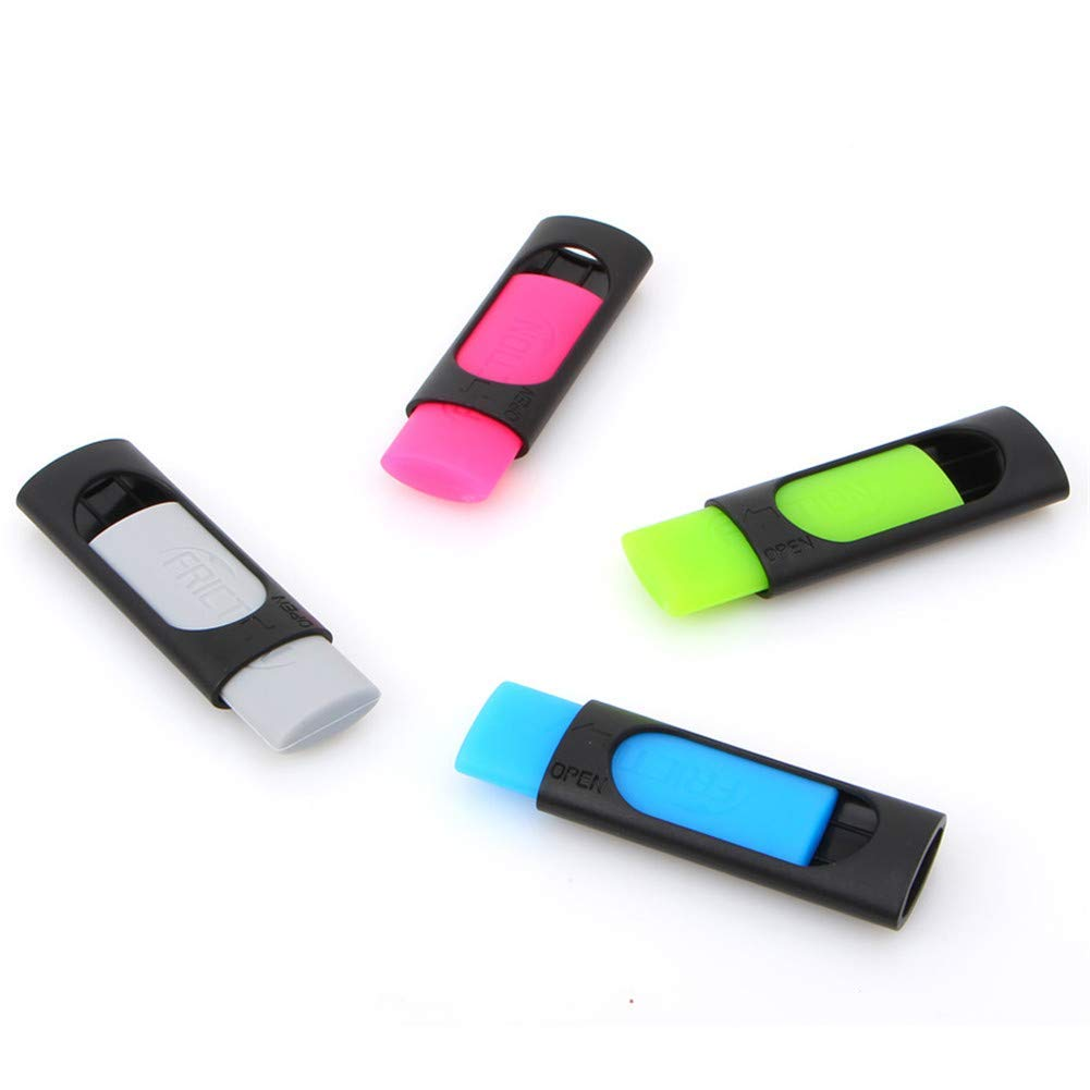 Premium Quality 3 Pieces Lovely Student Offical Supplies Rubber Eraser Creative Stationery Erasing Ink Eraser