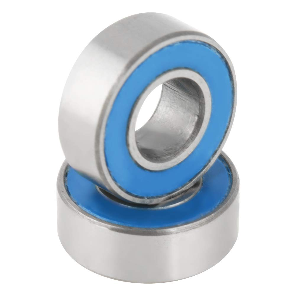 5x12x4 Rubber Sealed Bearing MR125-2RS 10 Units