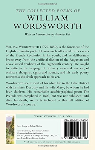 The Collected Poems Of William Wordsworth Wordsworth Poetry