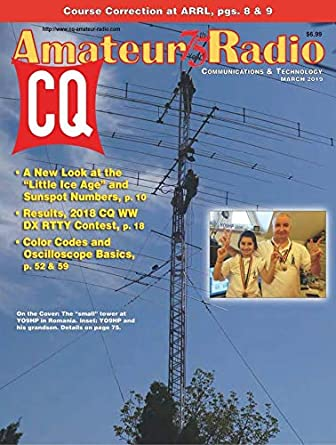 Cq amature radio magazine
