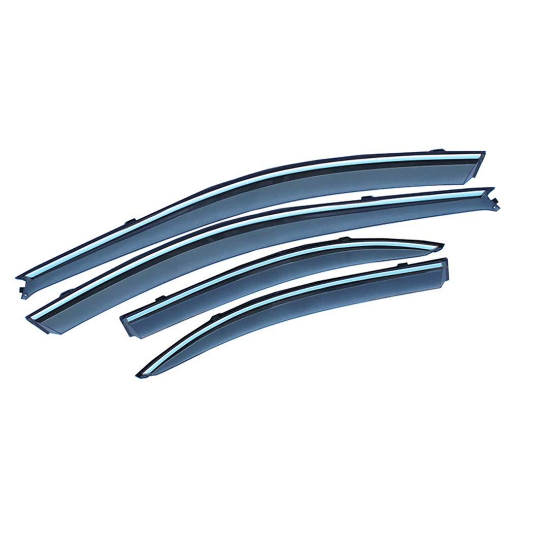 ALLYARD para CX-5 2018 2019 SPuerta Lateral ventilaci/ón Lateral Deflectores Ventana Visera Deflector Protector Visera ventilaci/ón Guardia 4piezas