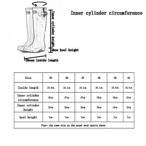 Lingge Modificati Gamba Scarpe Pioggia Tipo Pioggia Donne Stivali Marrone Delle Da Impermeabili Adulti Modelli RgwAqgH