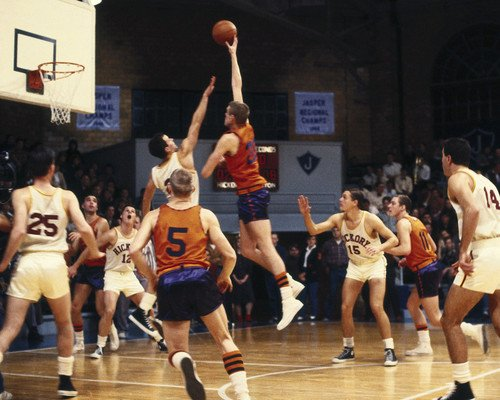 Hoosiers Basketball game 11X14 Promotional Photograph