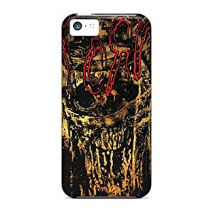 Iphone 5c TRU17375swIf Support Personal Customs Colorful Korn Pattern Shock-Absorbing Hard Phone Covers -InesWeldon