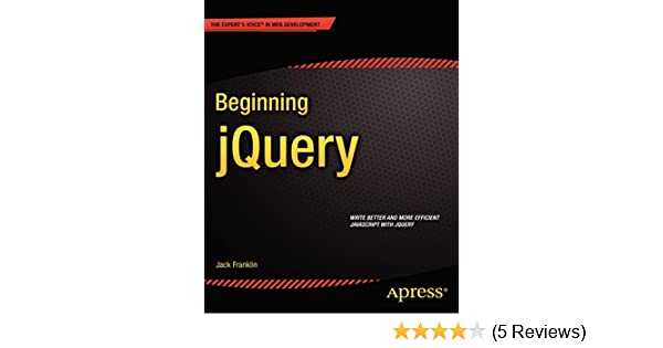 Books pdf jquery for beginning