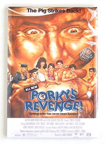 Porky's Revenge Movie Poster Fridge Magnet (2 x 3 inches)