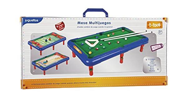 T-Toca Mesa Multijuegos: Amazon.es: Juguetes y juegos