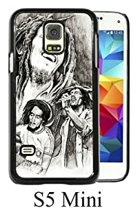 Great Quality Samsung Galaxy S5 Mini Case ,arte bob marley Black Samsung Galaxy S5 Mini Cover Case Hot Sale Phone Case Unique And Beatiful Designed