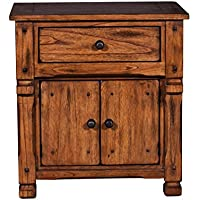 Sunny Designs Sedona Nightstand in Rustic Oak