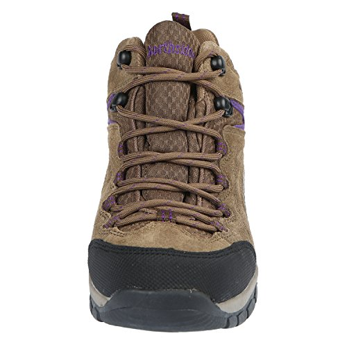 Stone Hiking Women's Pioneer Northside Boot Purple WP BX6nq