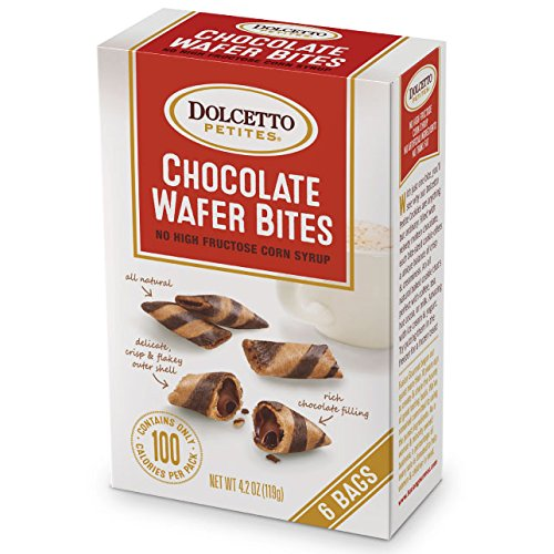 (Dolcetto Petites Chocolate Wafer Bites 4.2oz (6bags))