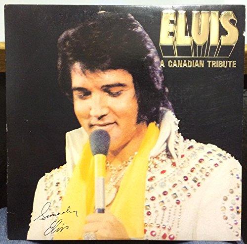 ELVIS PRESLEY a canadian tribute LP Mint- KKL1-7065 RCA USA 1978 Gold Vinyl (Tribute Mint)