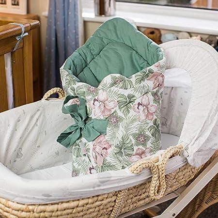 Blumig Babydecke Baby Swaddle Wickeltuch Baby Pucksack Baby Einschlagdecke Baby Decke Schlafsack Neugeborene Baby Wickeldecke Warm Weich Swaddle Blanket F/ür Jungen und M/ädchen 100/% Baumwolle Decke