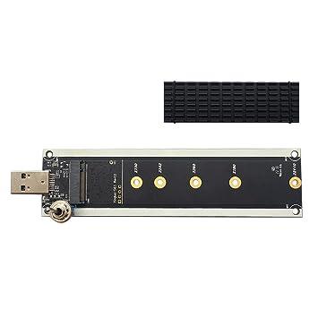 Adaptador NVME a USB, USB 3.1 Gen 2 M.2 PCIe M Key SSD a Tarjeta