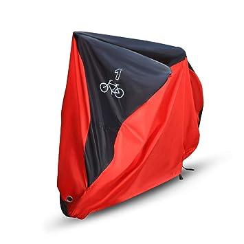 NOVSIGHT Funda para Bicicleta 190T Nylo con protección contra el Polvo, protección UV, Bolsa de Almacenamiento con Agujeros para 1 Bicicleta: Amazon.es: ...